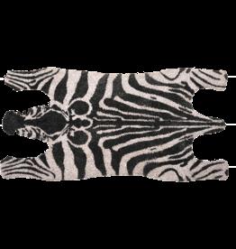 Coconut zebra doormat