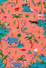 Luis Manuel Lambrechts Gelimiteerde Giclée  A2 Formaat - Animals are Funny by Luis Manuel Lambrechts