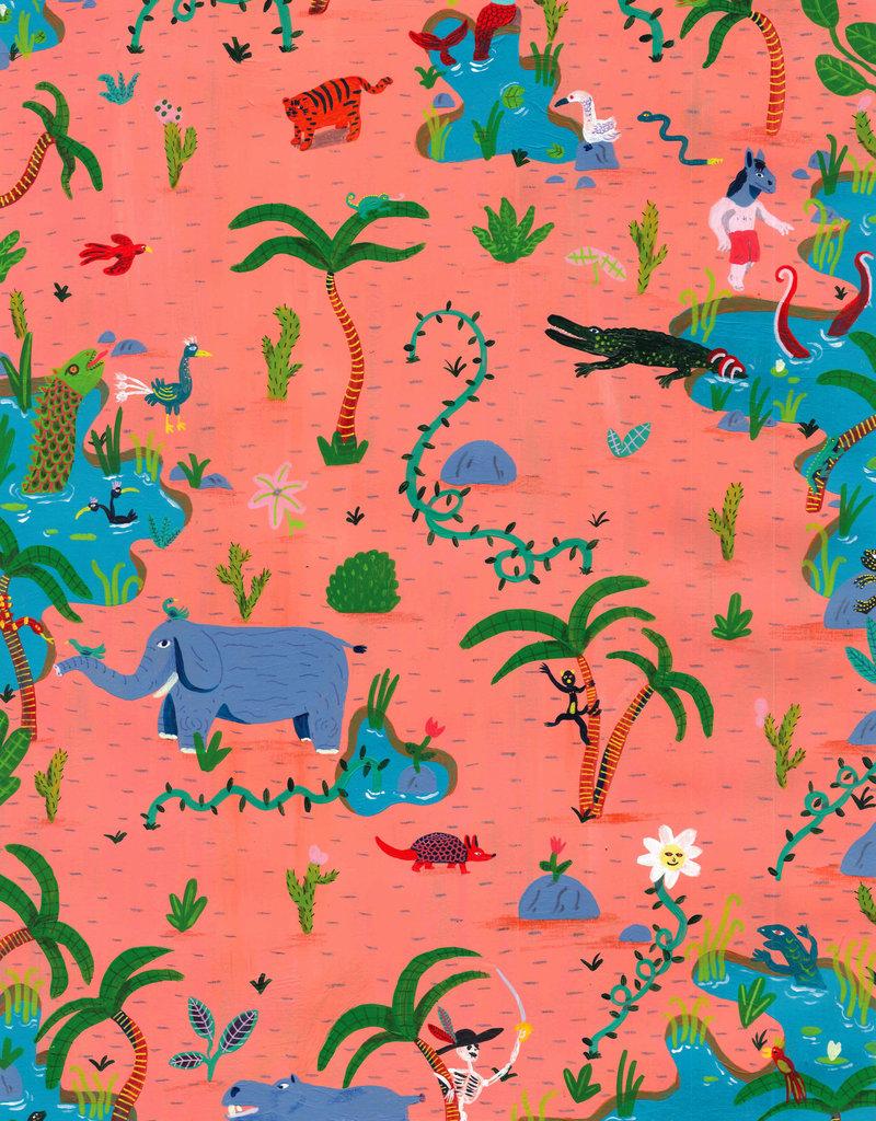 Luis Manuel Lambrechts Gelimiteerde Giclée - Animals are Funny by Luis Manuel Lambrechts