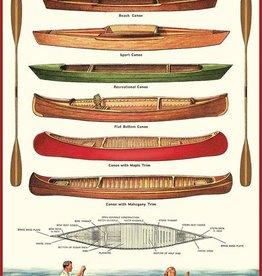 VINTAGE POSTER - Canoe