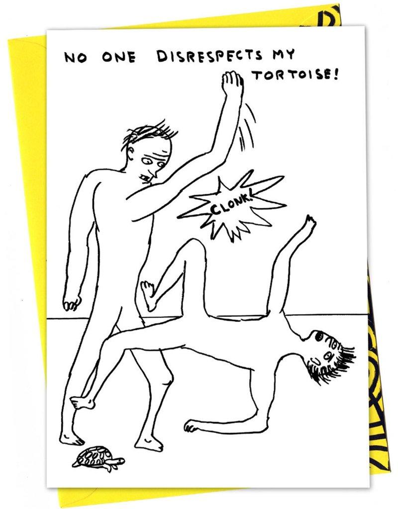 David Shrigley DAVID SHRIGLEY - Disrespect Tortoise