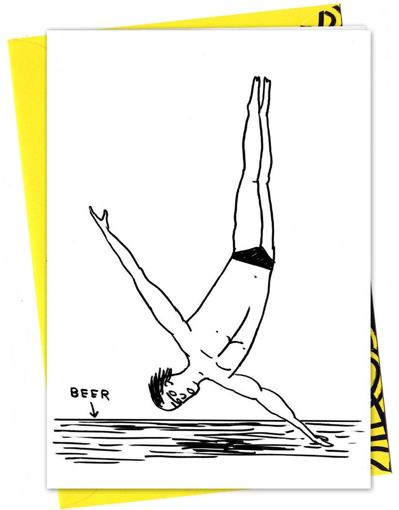 David Shrigley DAVID SHRIGLEY - Plongeur De Bière