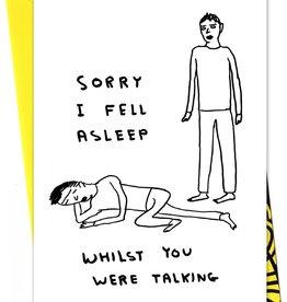 David Shrigley DAVID SHRIGLEY - Ik Viel In Slaap
