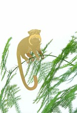 GOLDEN PLANT HANGER - Tamarin