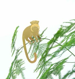 GOUDEN PLANTENHANGER - Tamarins