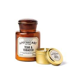 APOTHECARY - Glass candle - Tobacco & Teak MEDIUM - 226 g