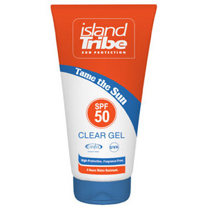 Island Tribe Clear Gel SPF50, 50ML