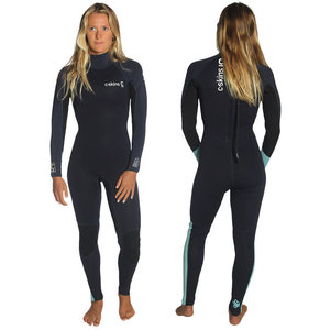 C-Skins Surflite 4X3 Womens Back Zip Steamer