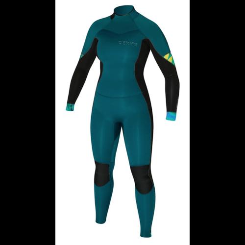 C-Skins C-skins Solace 4:3 BZ deep ocean/ Black/ tropic trees