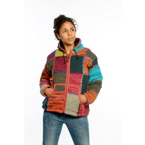 Ixtlan Ladies Colour Patch jacket