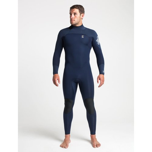 C-Skins Session 4:3 Mens GBS Back Zip Steamer