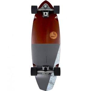 """Slide Surf Skateboards Diamond 32"""" Koa"""