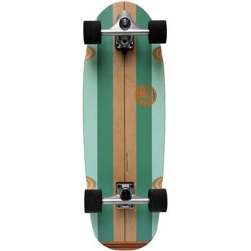 "Slide Surf Skateboards Gussie 31"" Avalanche"