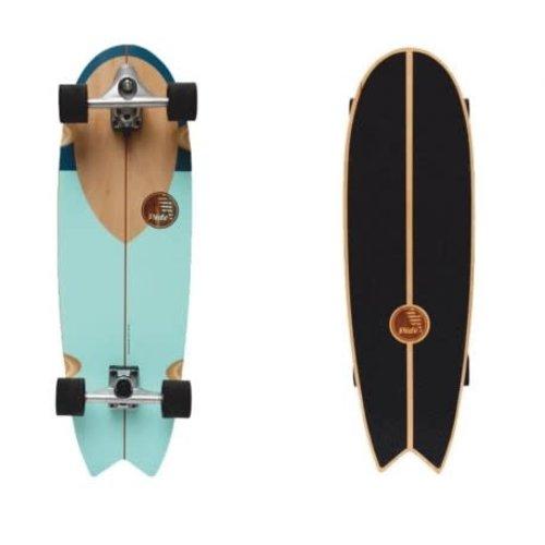 "Slide Surf Skateboards Swallow 33"" noserider"
