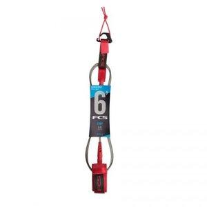 fcs FCS 6' Comp Essential Leash Red