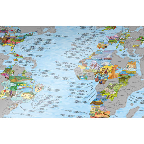Awesome Maps Bucketlist Map