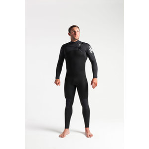 C-Skins Session 4:3 Mens GBS Chest Zip Steamer