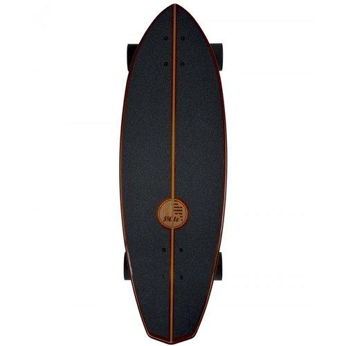 """Slide Surf Skateboards diamond koa 32"""""""