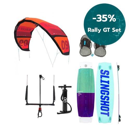 Slingshot Rally GT 10m2 Kitesurf Set Women