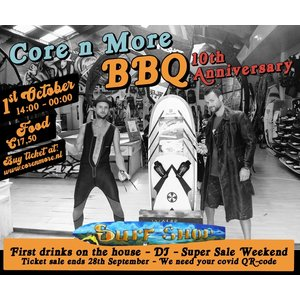 Core n More BBQ Ticket 10th Anniversary