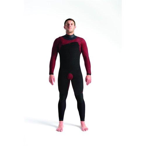 C-Skins Wired 5:4 Mens LQS Chest Zip Steamer