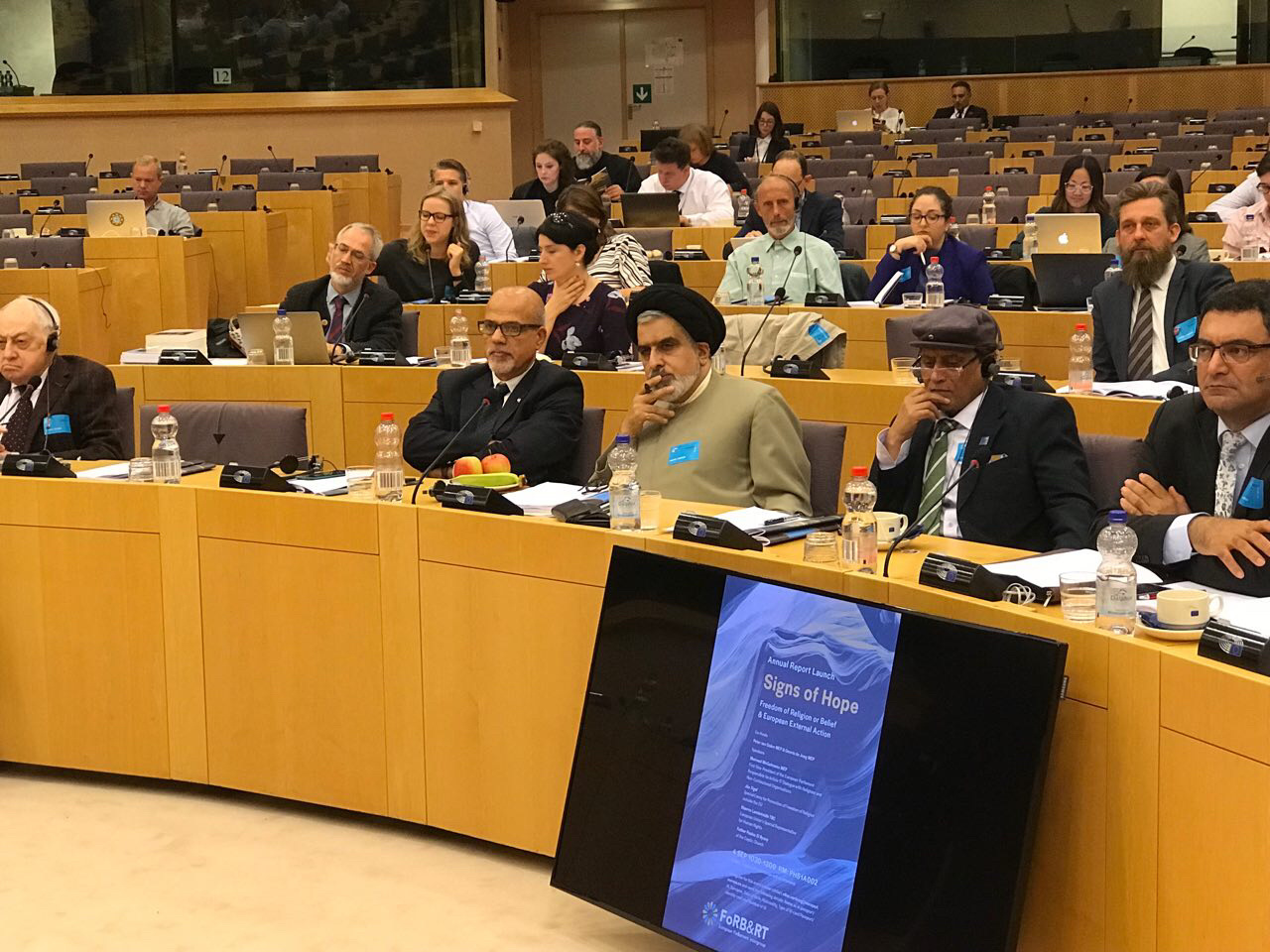 The EU parliant intergroup is an organ focused on the international situation of Freedom of Religion or Belief and Religious Tolerance