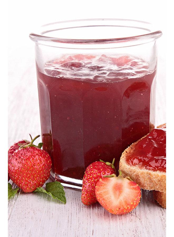 Organische aardbeienconfituur;