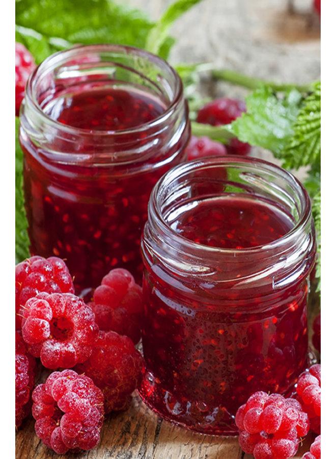Organic raspberry jam