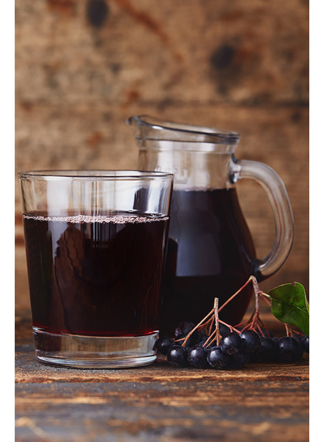 Organic Aronia chokeberry concentrate, a wonder for the health.