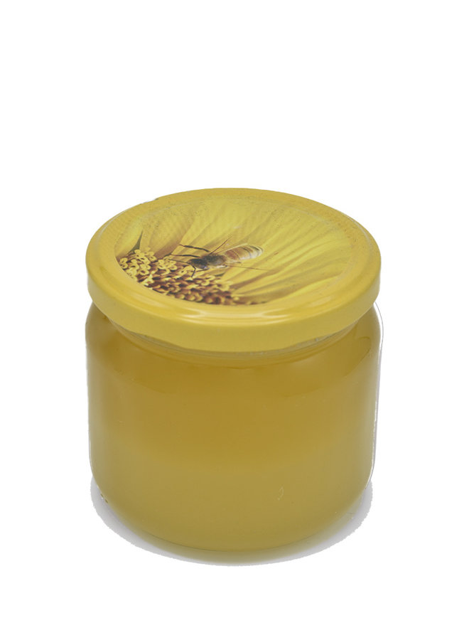 Acacia honey without any kind of additive or manipulation.