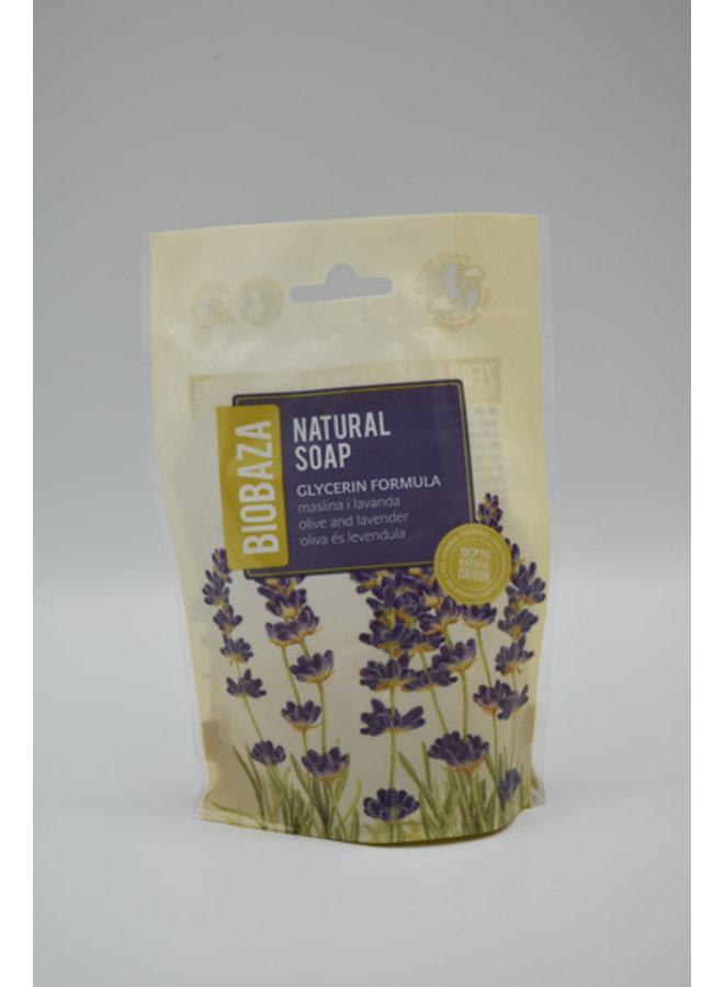 BIOBAZA NATURAL SOAP OLIVE & LAVENDER, 90 g