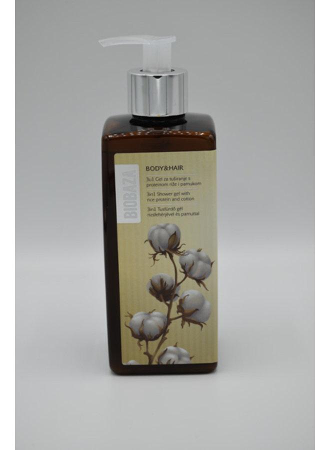 3in1 shower gel coconut  & coton 400 ml