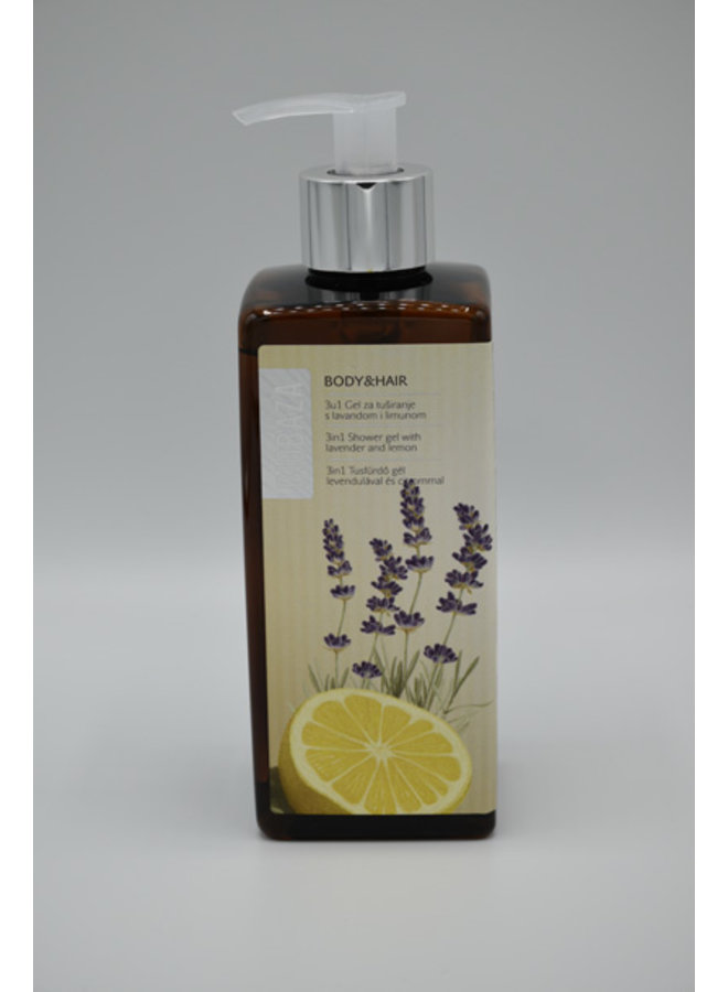 3in1 shower gel lavender & lemon 400 ml