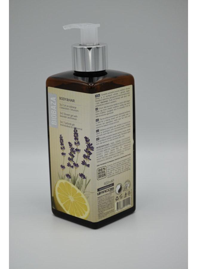 BIOBAZA BODY&HAIR SHAWER GEL 3 in 1 , 400 ml