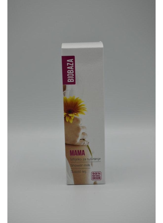 Biobaza  Mama  Creme de leite para banho, 200ml