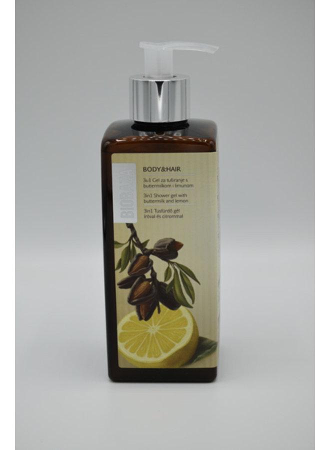 BIOBAZA ENERGY REVIVE Shower gel, 3 in 1 400 ml