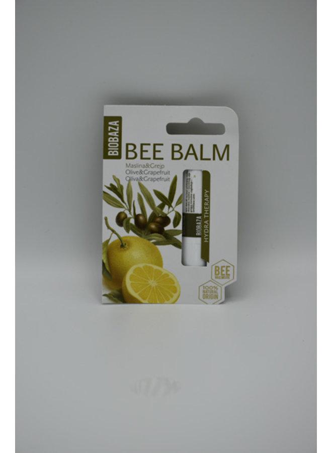 BIOBAZA BEE BALM OLIVE & GRAPEFRUIT, 4.5 g
