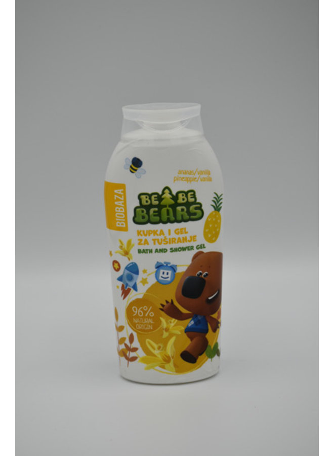 BIOBAZA BeBe BEARS DOUCHE ANANAS 250 ml