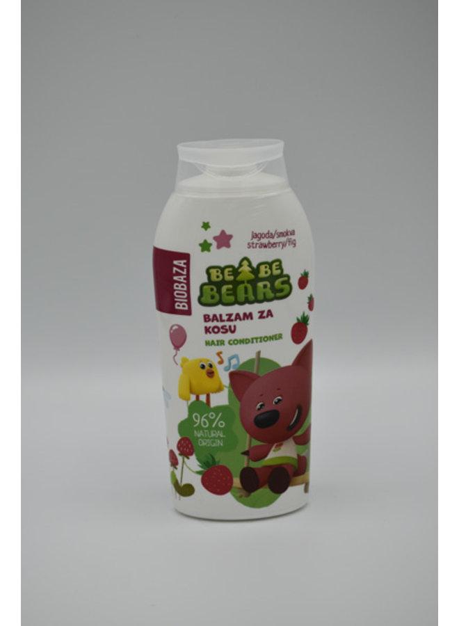 Bebe bears haarbalsem aardbei & vijg, 250 ml