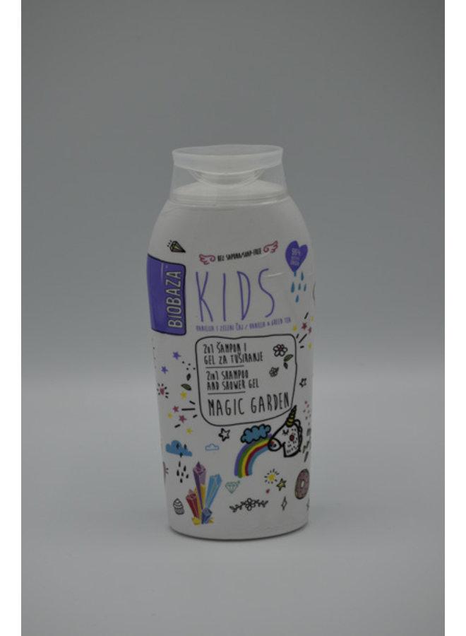 BIOBAZA KIDS MAGIC GARDEN, 2in1 SHOWER GEL, 250 ml
