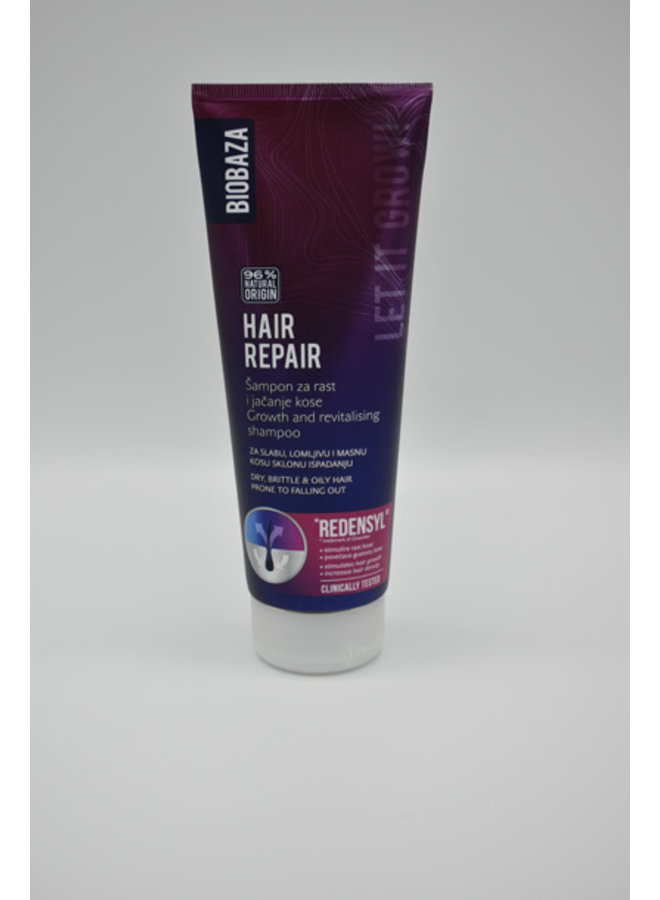 Hair revitalising & grow shampoo, 250ml