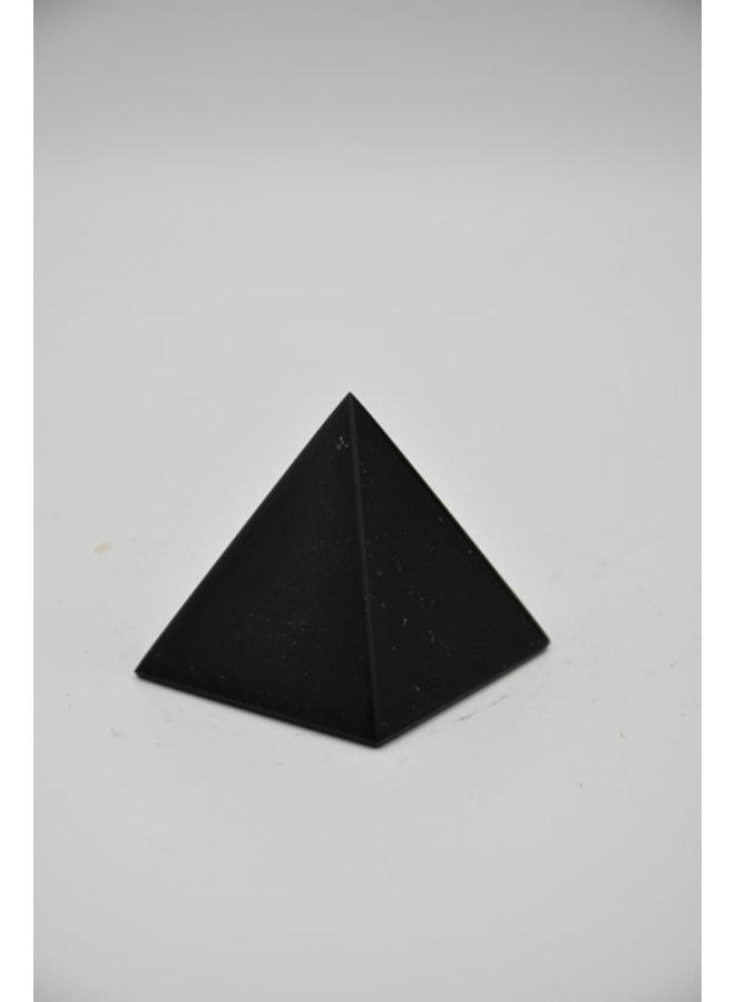 Small obsidian pyramid