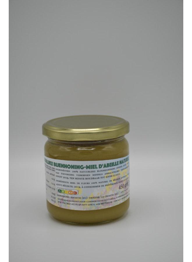 Mel de campo de flores naturais -  Premium