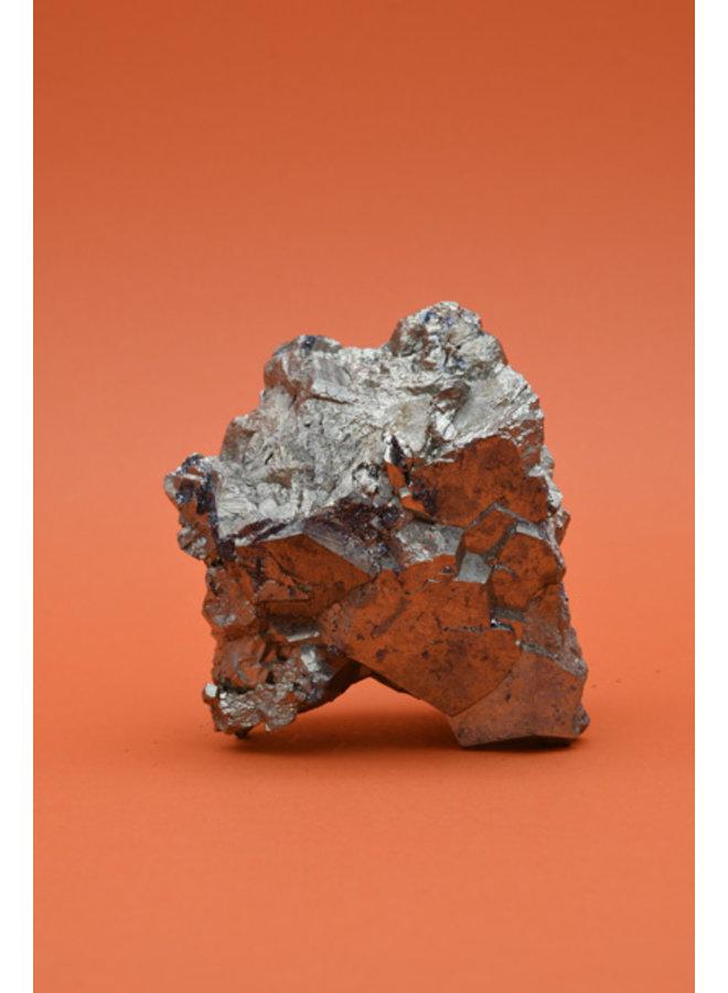 Pyrite with Specularite (crystallised Hematite)