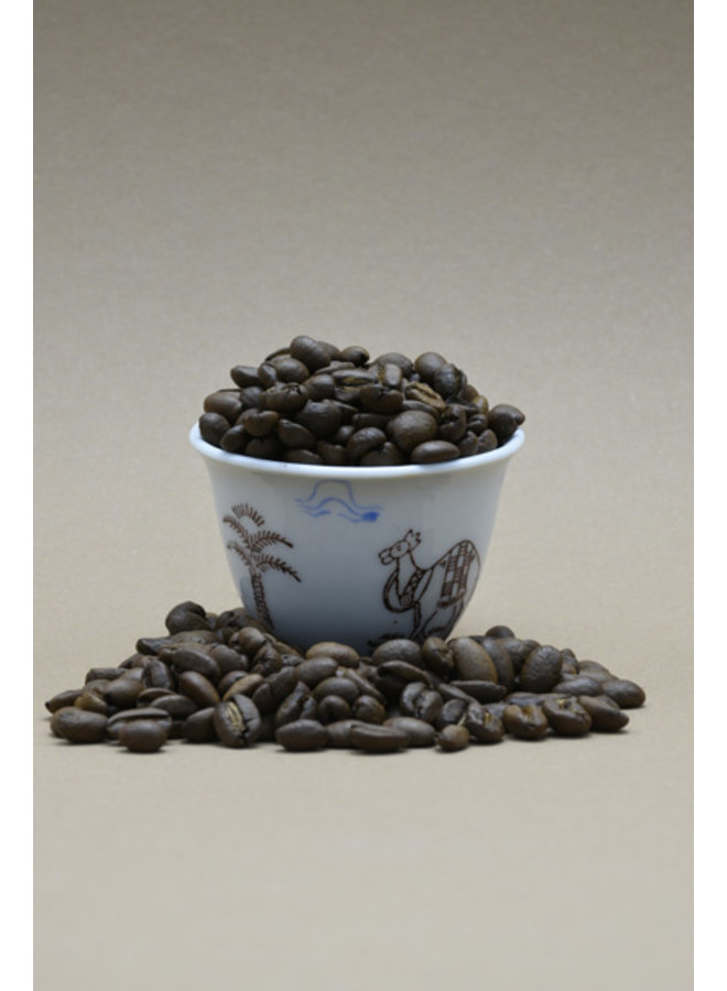 SIDAMO koffie, 250 gram, bonen, gebrand