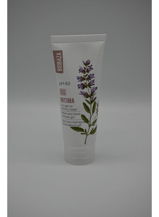 Intima wash & shave pH 4.0 gel, 100ml