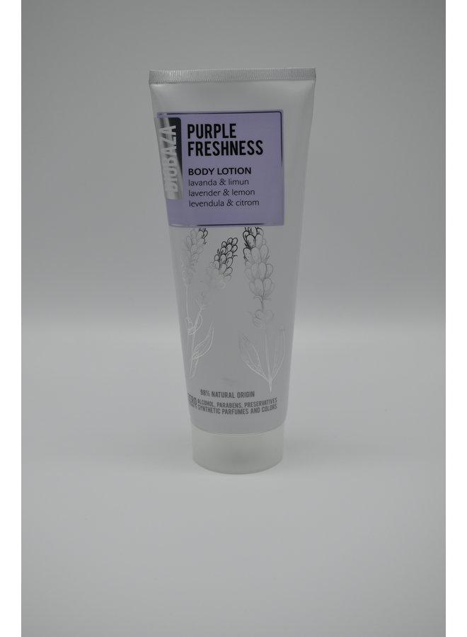 Body lotion purple freshness 98% natural origin, 250ml