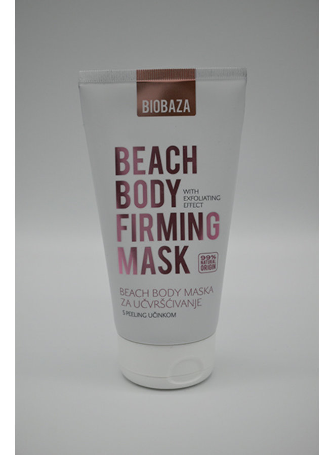 BIOBAZA BEACH BODY, Firming mask with peeling effect