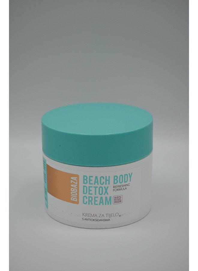 Beach body detox cream 99% natural origin 250ml