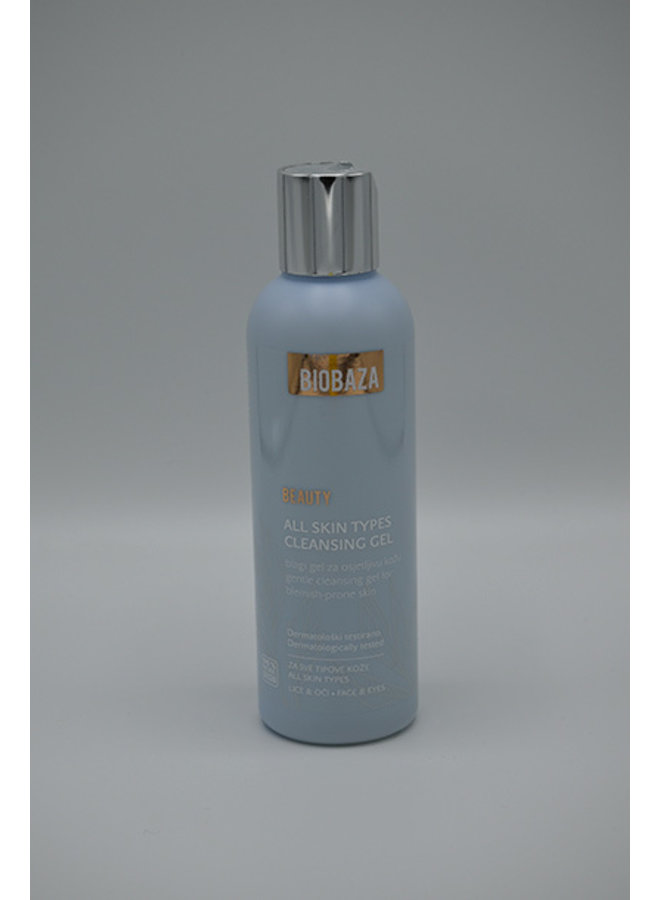 BIOBAZA BEAUTY all skin types cleansing gel